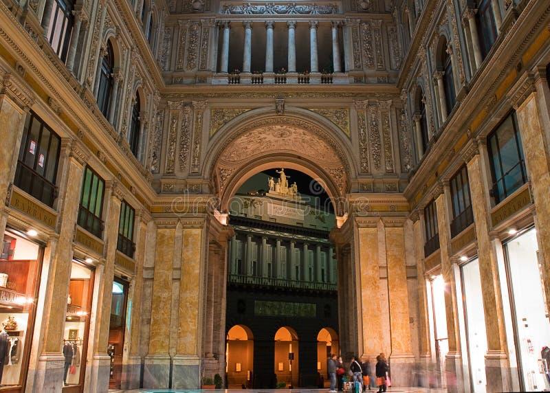 Galleria Umberto I royalty free stock images