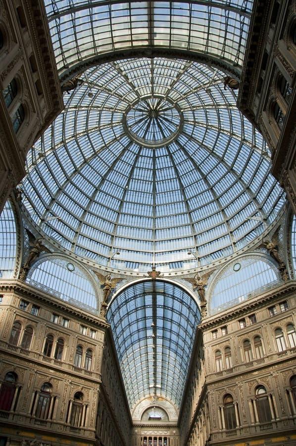 Galleria Umberto I lizenzfreie stockfotografie