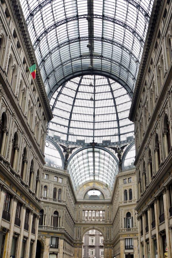 Galleria Umberto I stock image