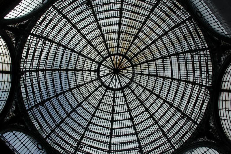 Galleria Umberto I stockbilder