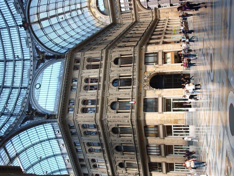 Galleria Umberto I, Napels, Italië royalty-vrije stock afbeeldingen