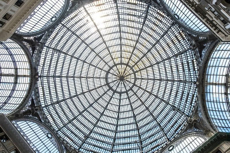Galleria Umberto I royalty free stock image