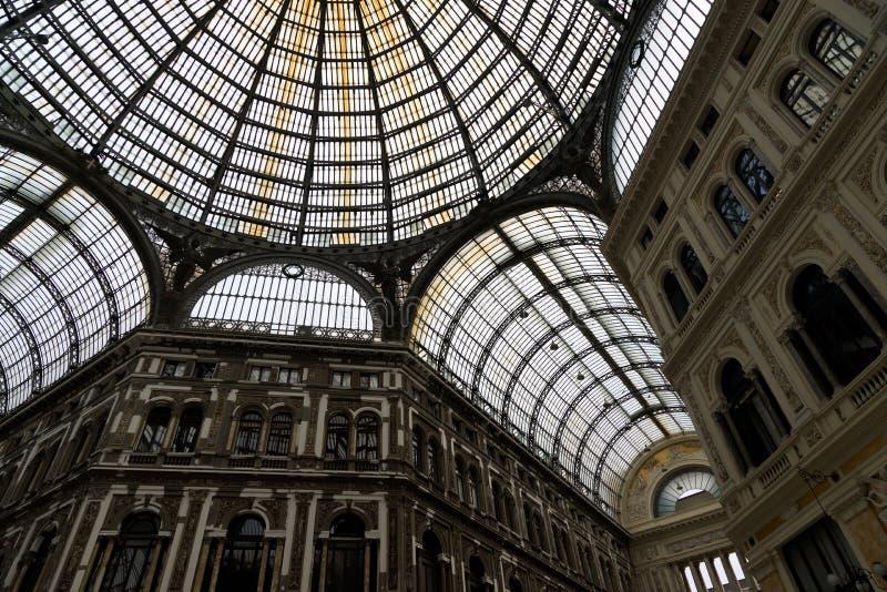 Galleria Umberto I stockfotografie