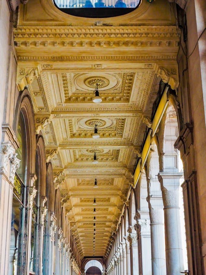 Galleria Vittorio Emanuele ΙΙ στοκ φωτογραφίες με δικαίωμα ελεύθερης χρήσης