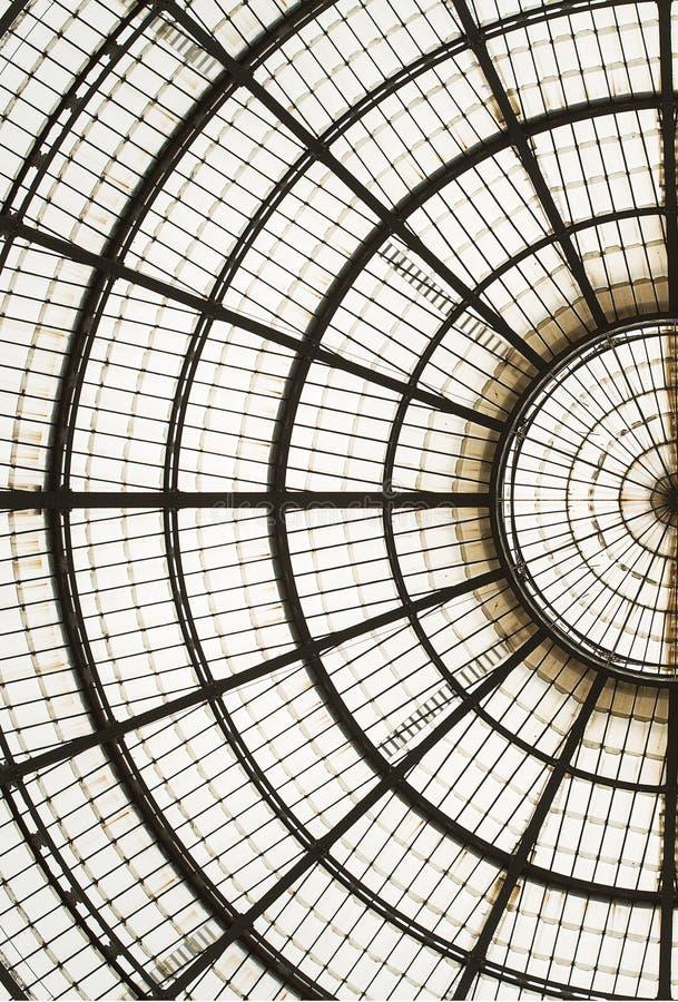 Galleria Vittorio Emanuele ΙΙ στοκ εικόνες με δικαίωμα ελεύθερης χρήσης