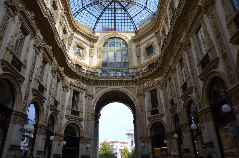 ?? Galleria Vittorio Emanuele ?? στοκ εικόνες