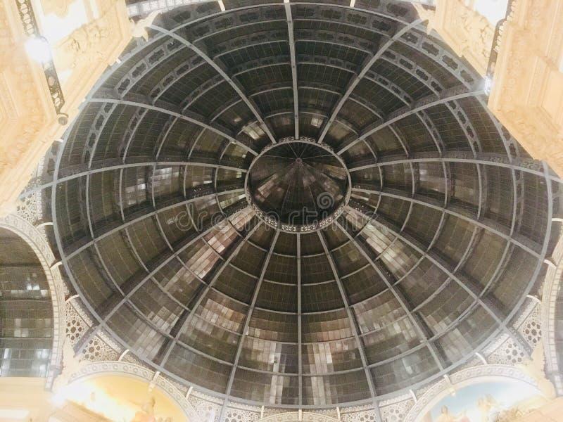 Galleria Vittorio Emanuele στοκ εικόνα