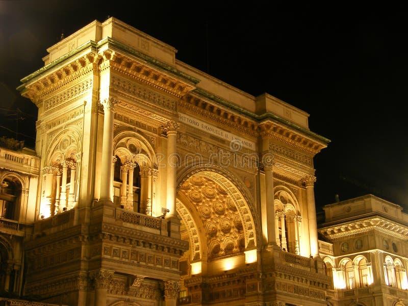 Galleria Vittorio Emanuele stock photos