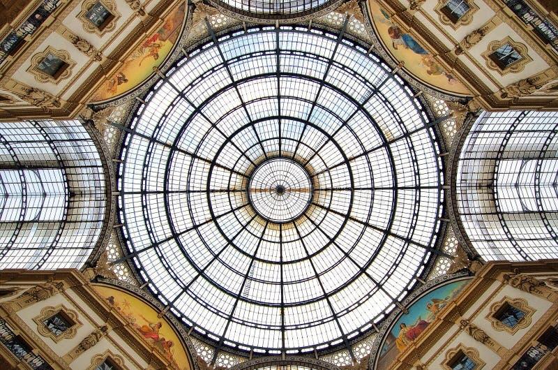 Galleria Vittorio Emanuele stockfotos