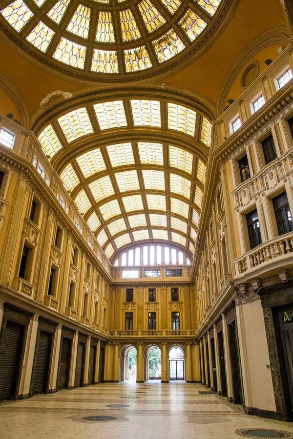 Galleria Vittorio Emanuele royalty-vrije stock afbeeldingen