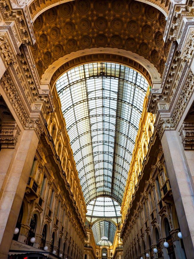Galleria Vittorio Emanuele II royalty free stock photo