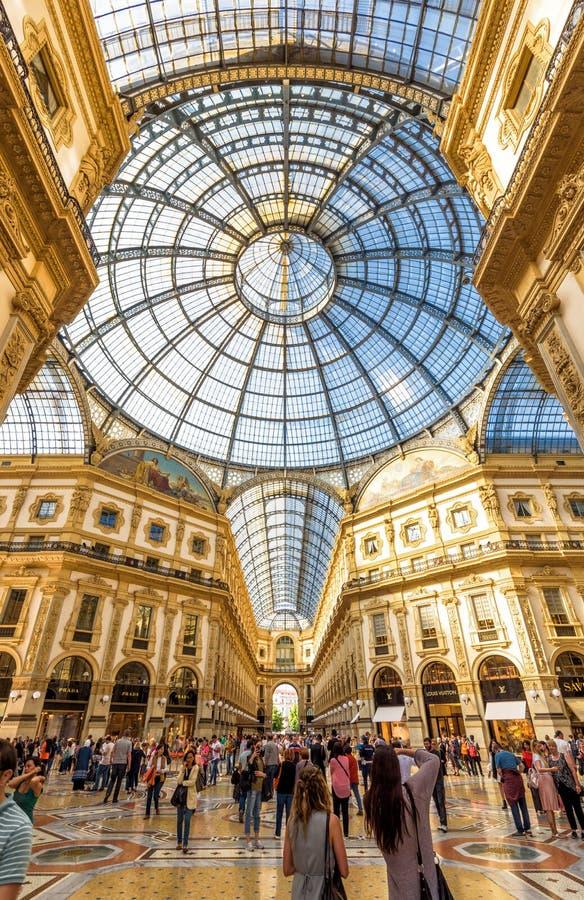 Free Galleria Vittorio Emanuele II In Milan, Italy Royalty Free Stock Images - 95037259