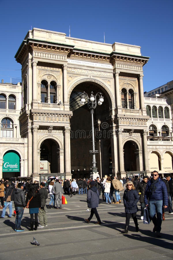 Download Galleria Vittorio Emanuele II In Milan Editorial Photography - Image: 37274972