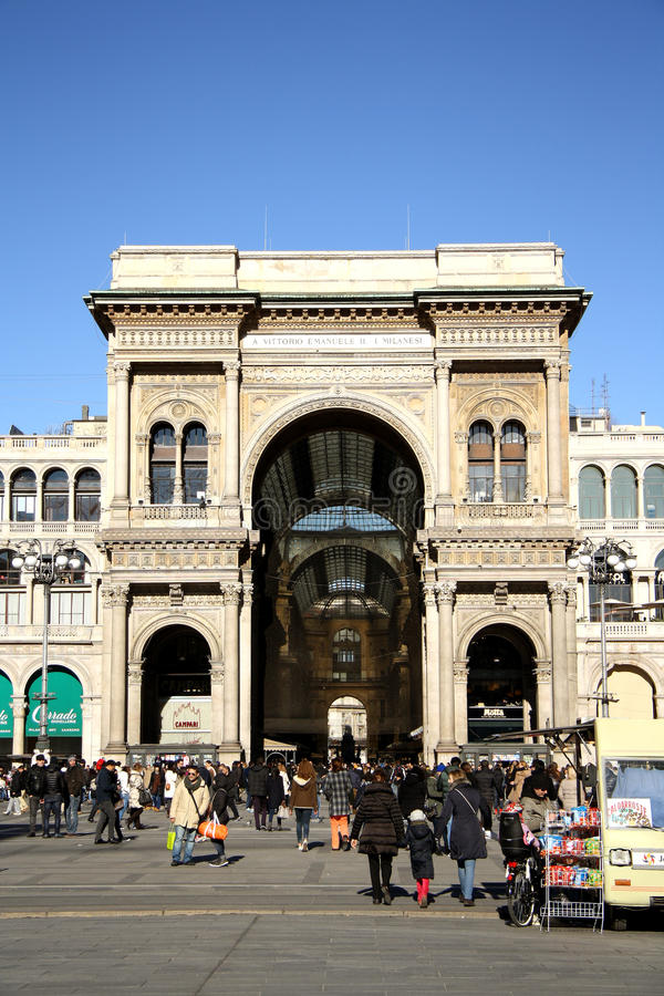 Download Galleria Vittorio Emanuele II In Milan Editorial Photo - Image: 37273191