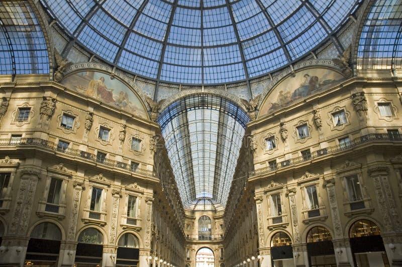 Galleria Vittorio Emanuele, Milaan royalty-vrije stock fotografie