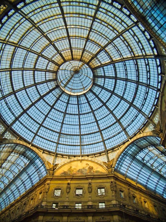 Galleria Vittorio Emanuele(Milan) royalty free stock photography