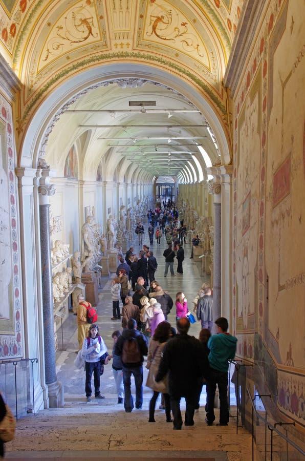 gallerimuseum vatican fotografering för bildbyråer