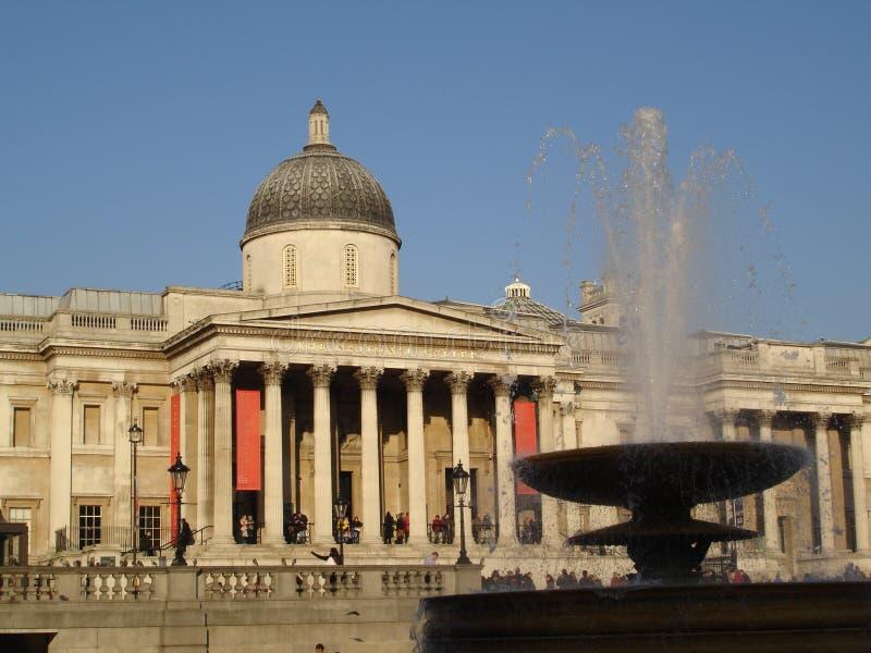 Gallert nacional em Londres imagens de stock