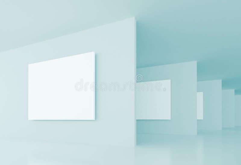Download Gallery stock illustration. Illustration of blue, home - 16986801
