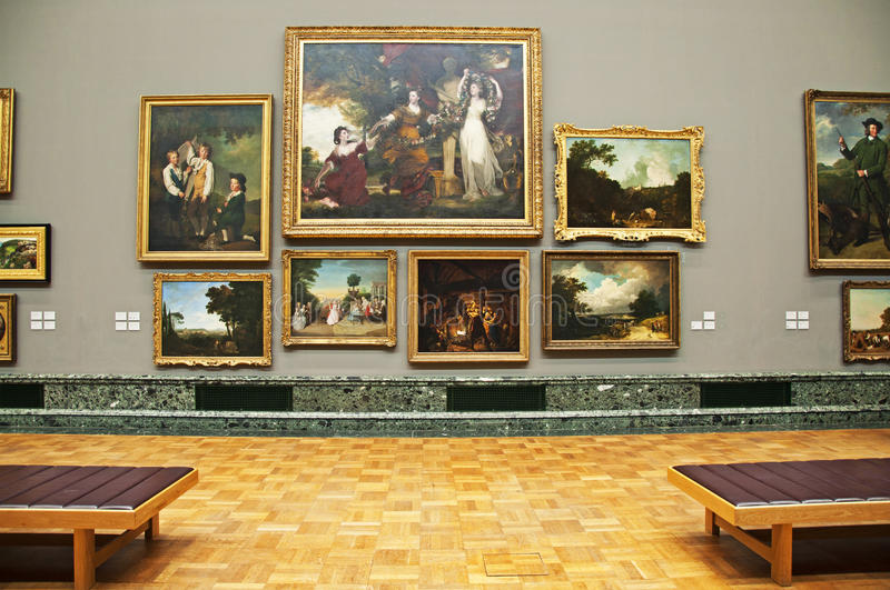 The Gallery royalty free stock image