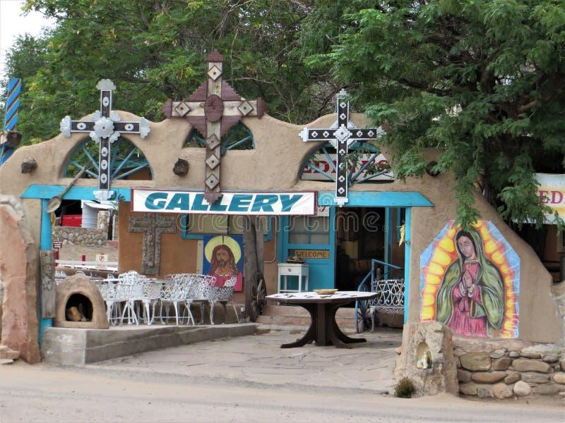 Gallery, Chimayo, New Mexico royalty free stock photos