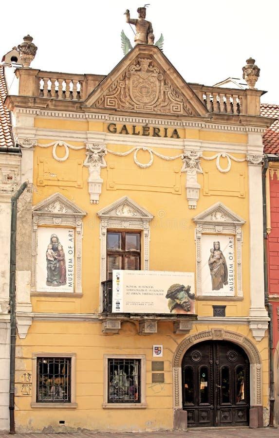 Gallery in city Presov, Slovakia royalty free stock images