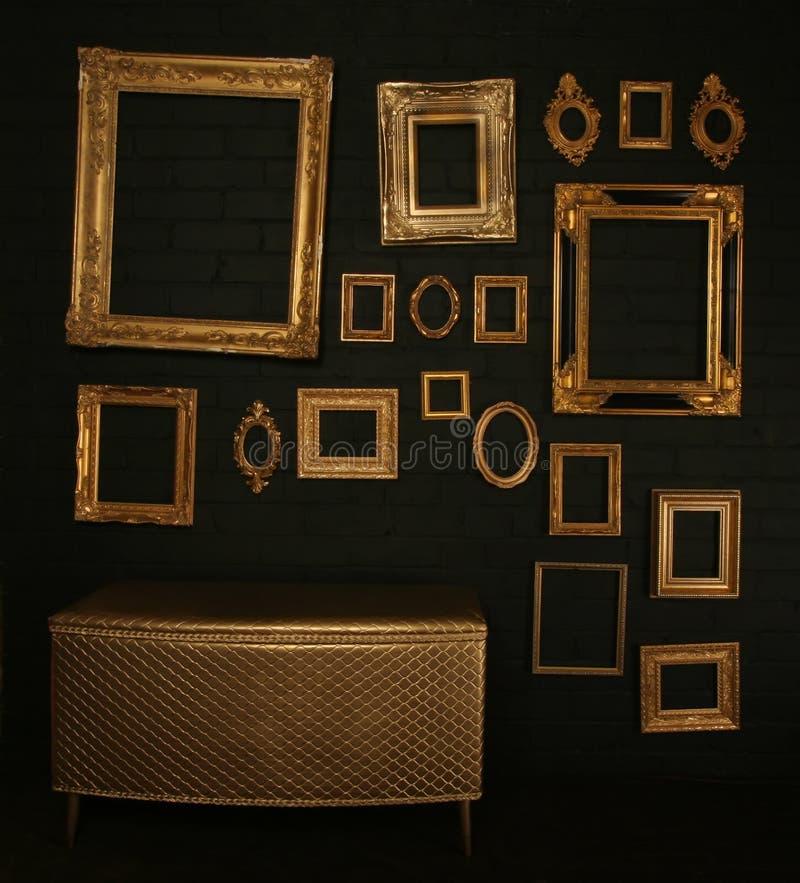 Gallery display royalty free stock photos
