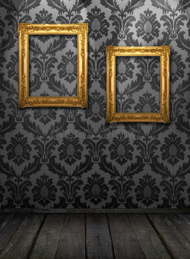 Gallery display royalty free stock images