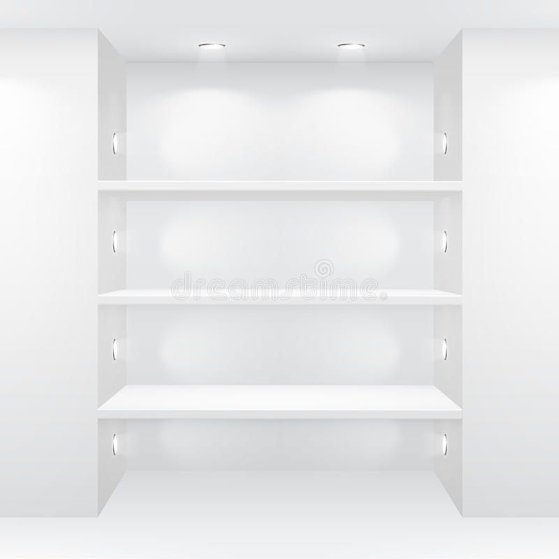 Download Gallery Interior With Empty Shelves Royalty Free Stock Photography - Image: 20769877