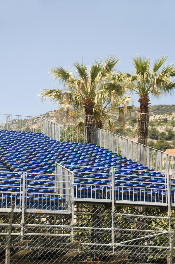 Download Gallery Seating Stands For Race Monaco Monte Carlo Stock Photo - Image: 25228490