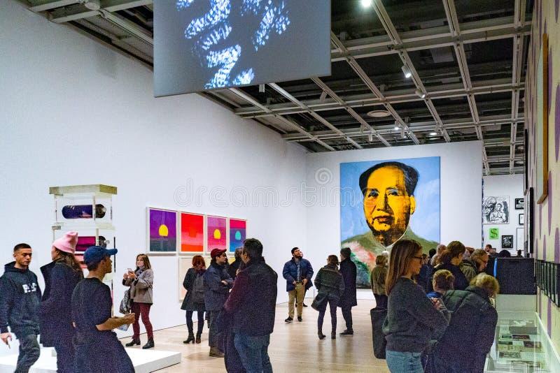 New York, NY / United States-Dec 9, 2018: Whitney Museum of Amer stock image
