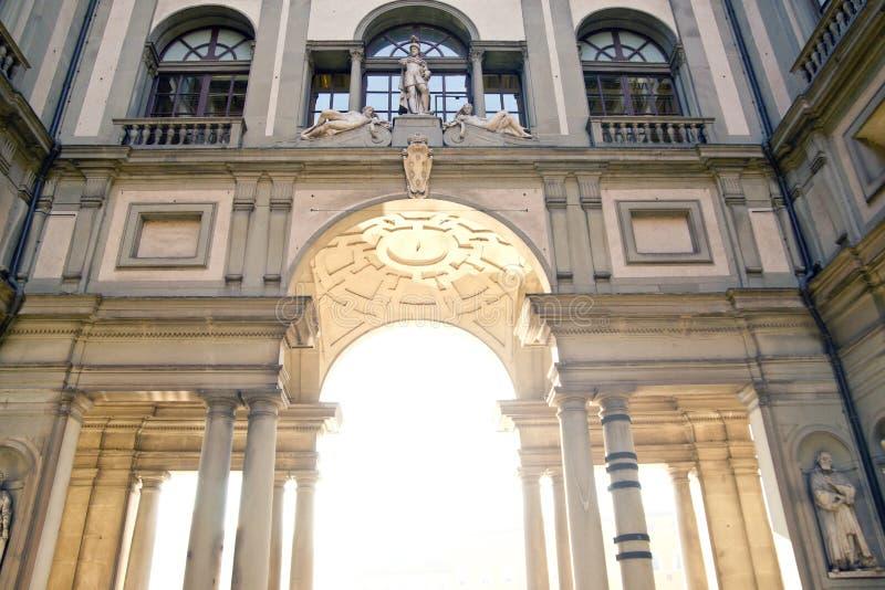 galleryuffizi της Φλωρεντίας στοκ φωτογραφία