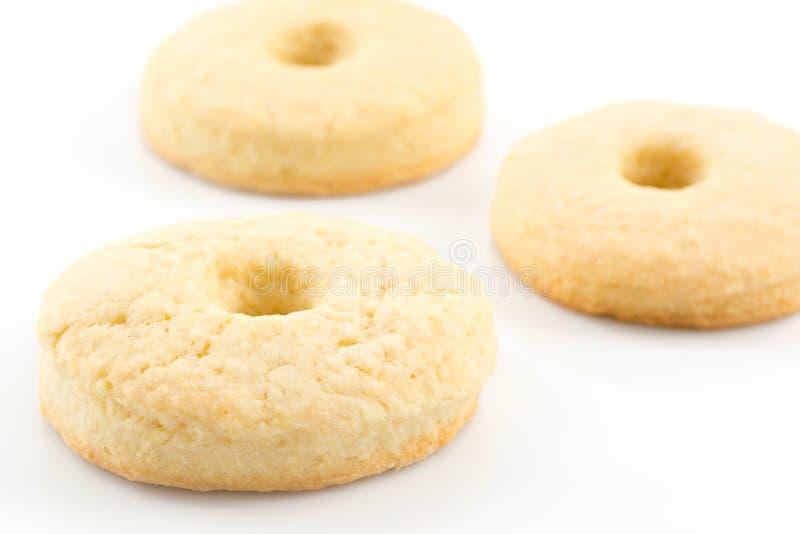 _galleta con poner crema leche fotos de archivo libres de regalías