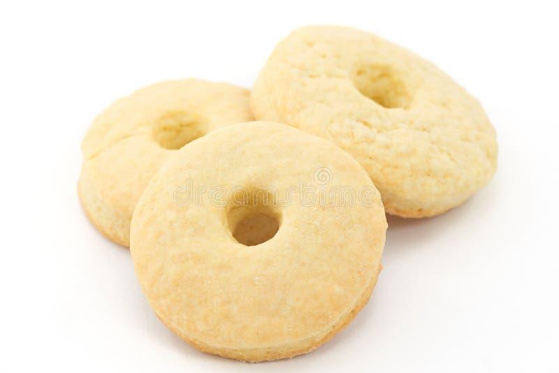 _galleta con poner crema leche fotografía de archivo libre de regalías