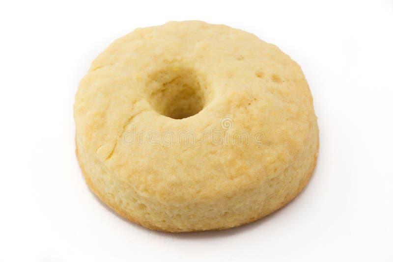 _galleta con poner crema leche foto de archivo libre de regalías
