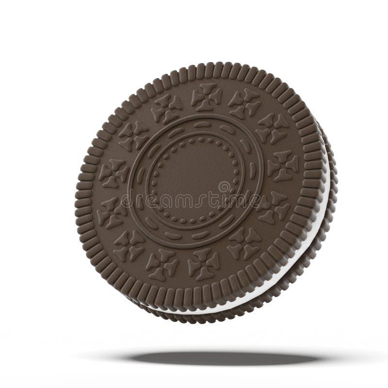 Galleta del chocolate ilustración del vector