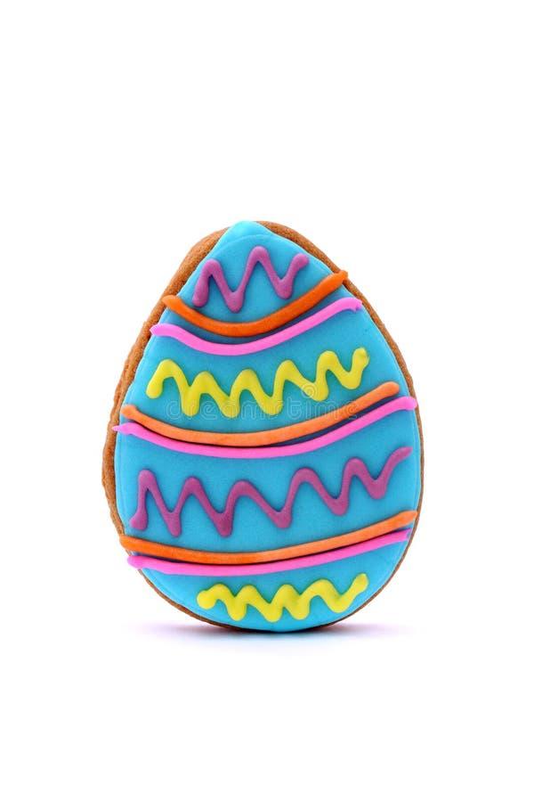 Galleta del huevo de Pascua imágenes de archivo libres de regalías
