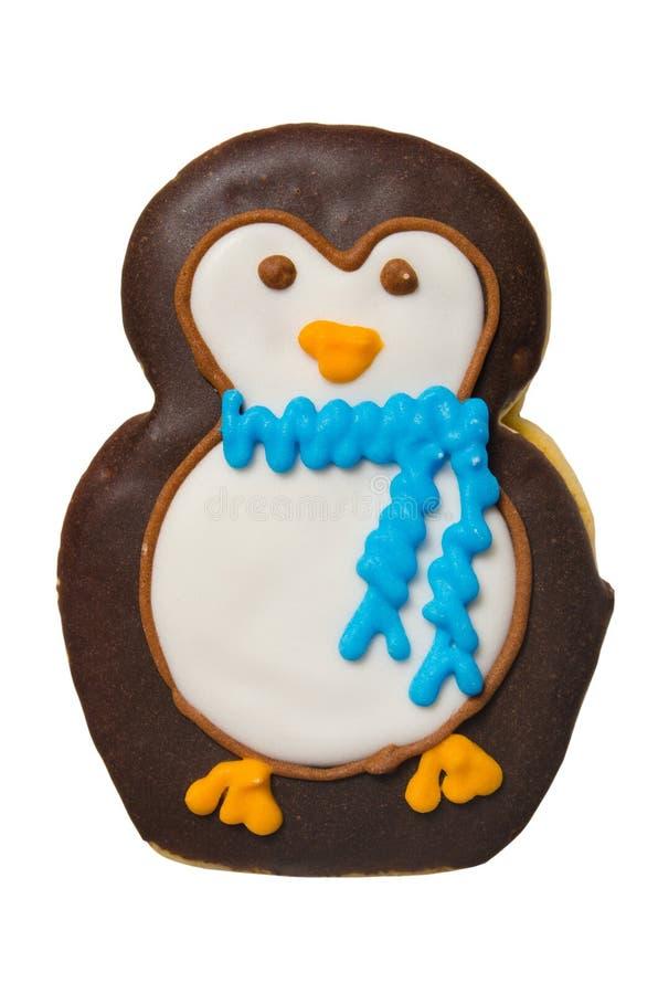 Galleta del pingüino imagenes de archivo
