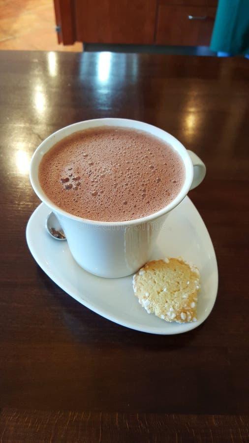 galleta y cacao/café fotos de archivo libres de regalías