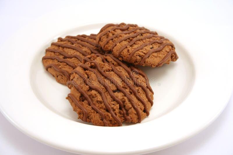 Galletas 1 del dulce de azúcar de chocolate foto de archivo libre de regalías