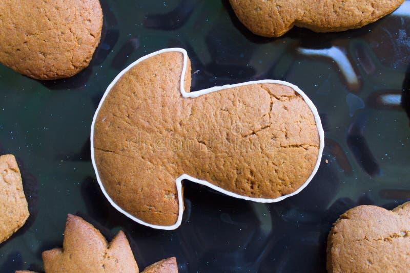 galletas bajo la forma de seta fotos de archivo