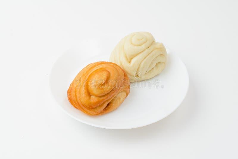 galletas chinas en blanco imágenes de archivo libres de regalías