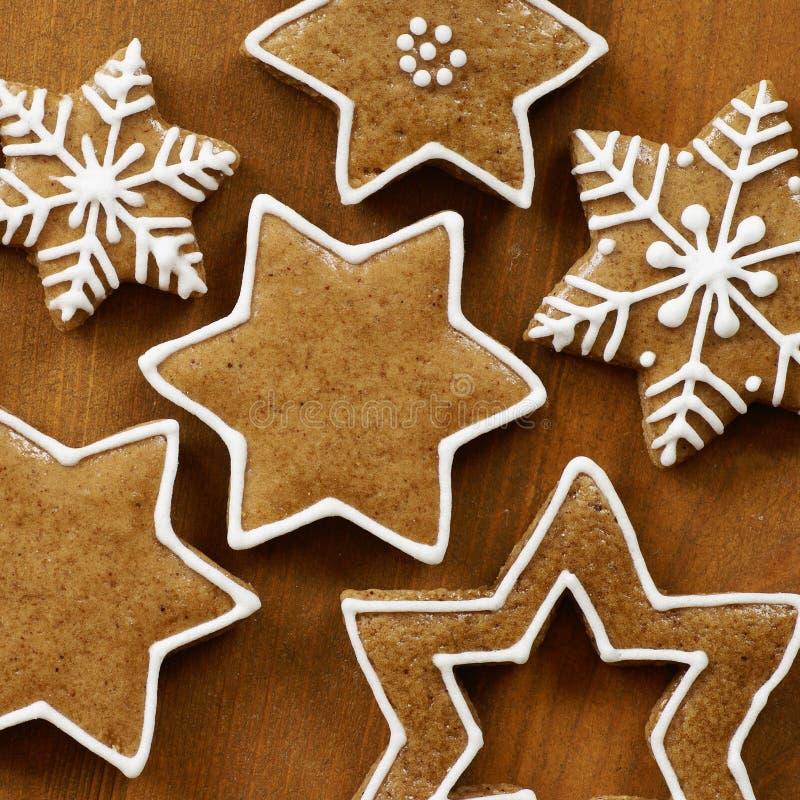 Galletas de Gingervread imagenes de archivo