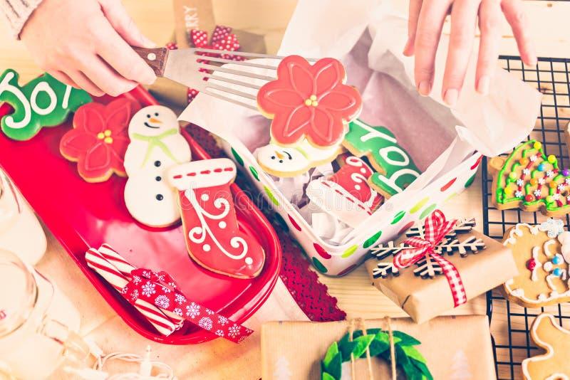 Download Galletas de la Navidad imagen de archivo. Imagen de conducido - 64200669