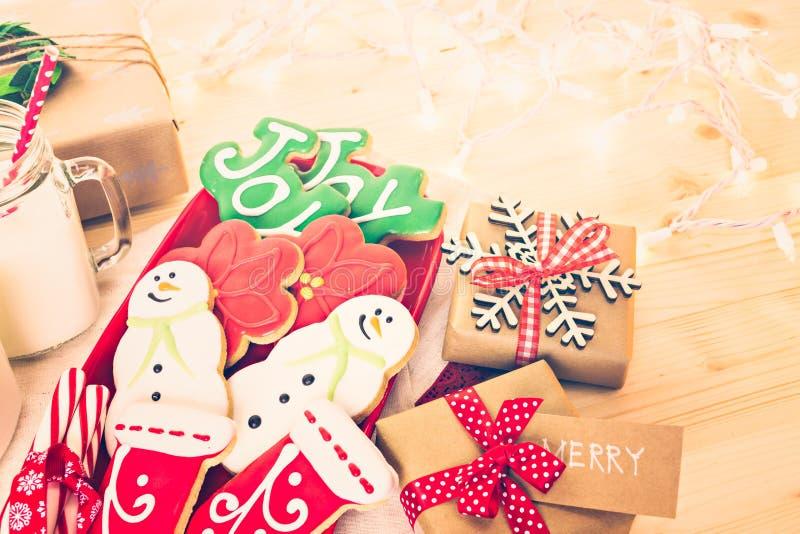 Download Galletas de la Navidad imagen de archivo. Imagen de marrón - 64200675