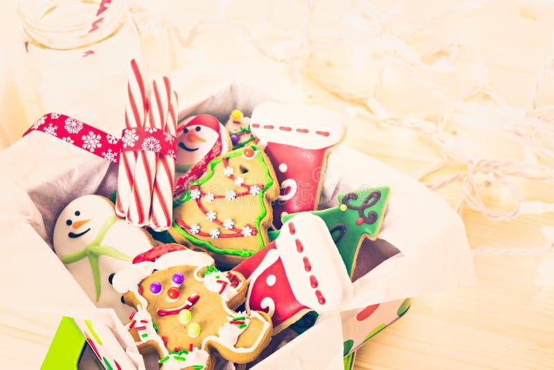 Download Galletas de la Navidad imagen de archivo. Imagen de homemade - 64200705