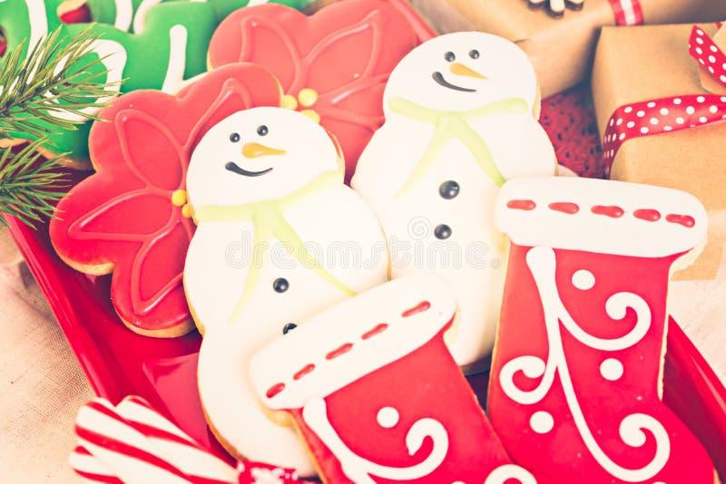 Download Galletas de la Navidad foto de archivo. Imagen de caramelo - 64200770