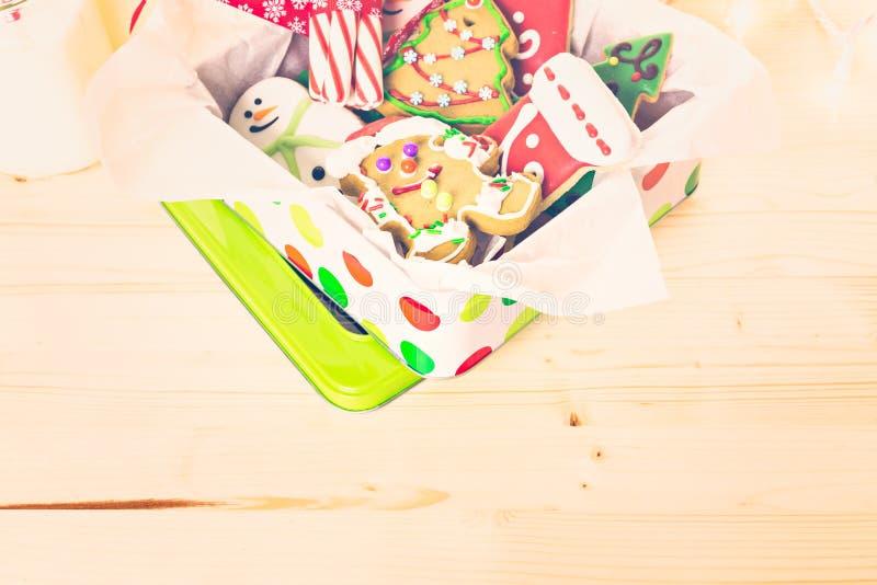 Download Galletas de la Navidad foto de archivo. Imagen de handmade - 64200778