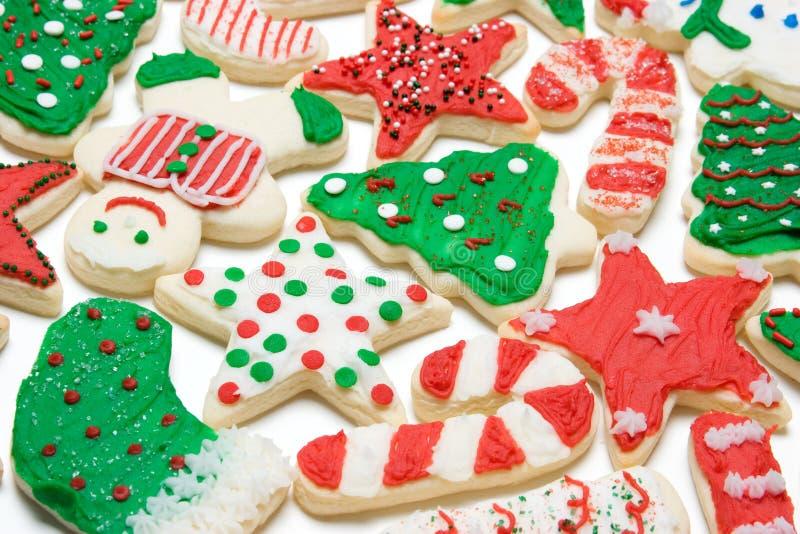 Download Galletas de la Navidad imagen de archivo. Imagen de shapes - 7279151