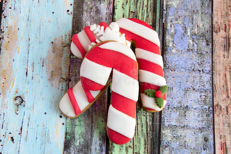 Galletas de la Navidad foto de archivo libre de regalías